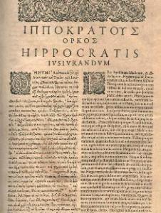 juramento hipocrático